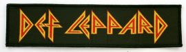 Def Leppard - 'Logo' Woven Strip Patch
